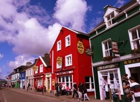 Dingle, une ville colorée