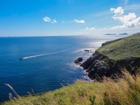Vue sur l'Océan Atlantique à Dingle