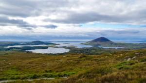 De Galway au Connemara, vue sublime sur les lacs