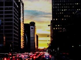 Los Angeles le soir