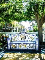 Banc en céramique à Marbella