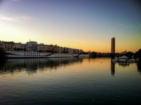 Rives du Guadalquivir à Séville