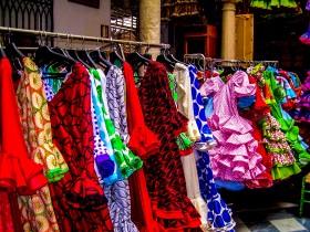 Robes de flamenco à Triana