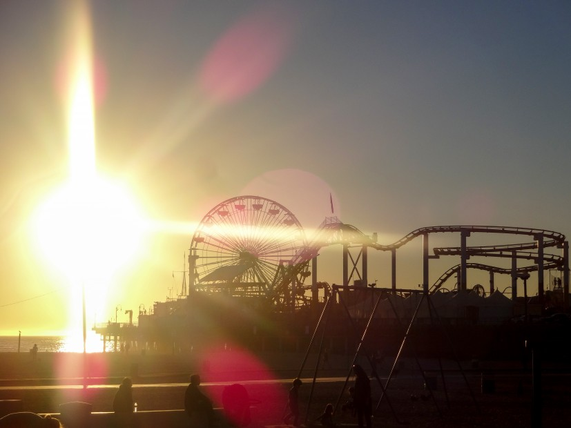 La jetée de Santa Monica