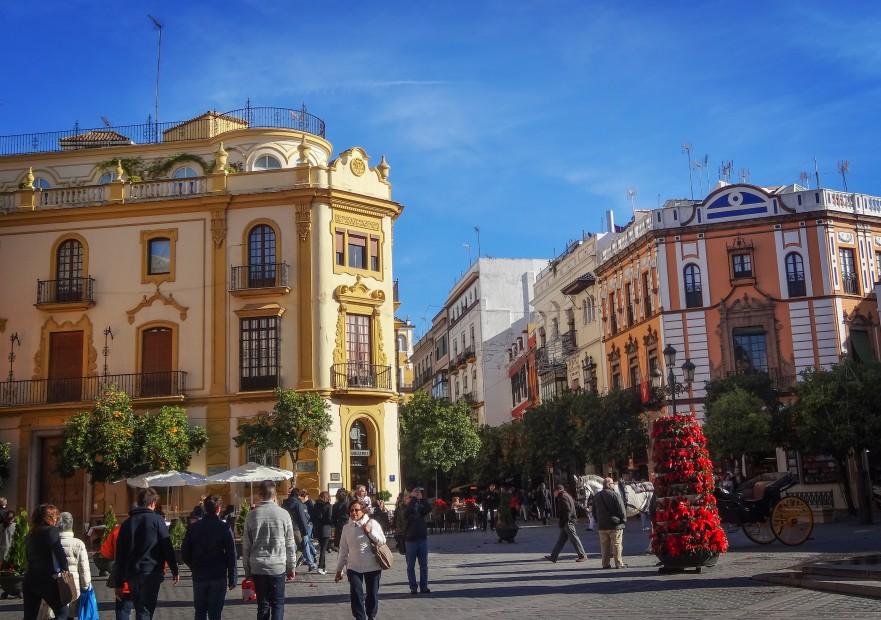 Séville, ville colorée