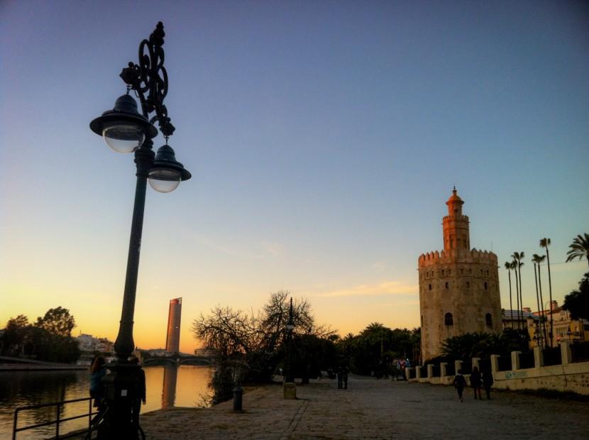 La Torre de Oro à Séville