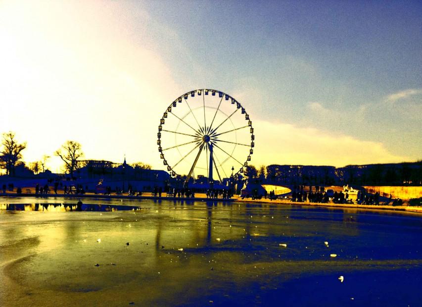 Les Tuileries en hiver