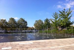 Les Jardins d'eau de Nancy