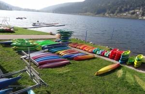 Kayak à Gerardmer