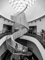 L'escalier du musée Dali