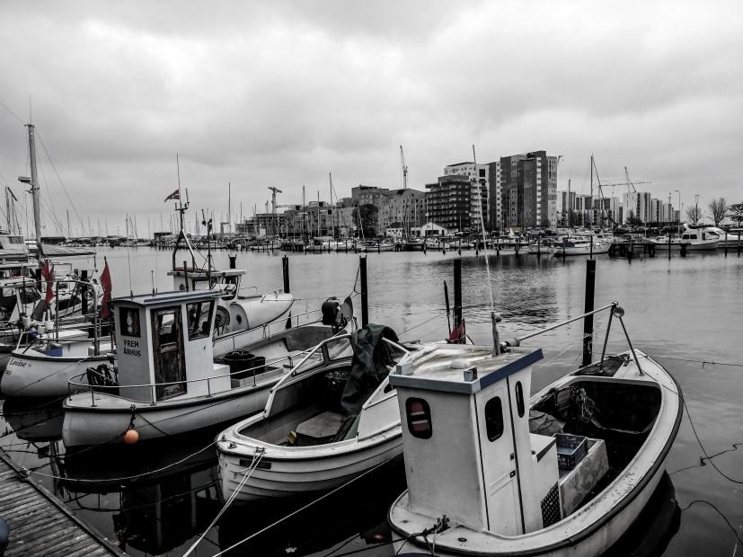 Port d'Aarhus et nouveau quartier