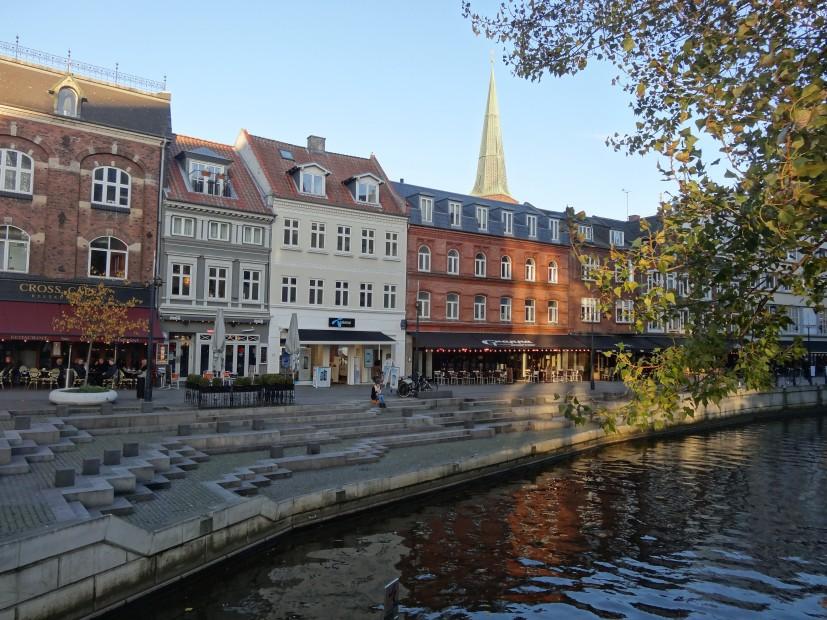 Les quais d'Aarhus