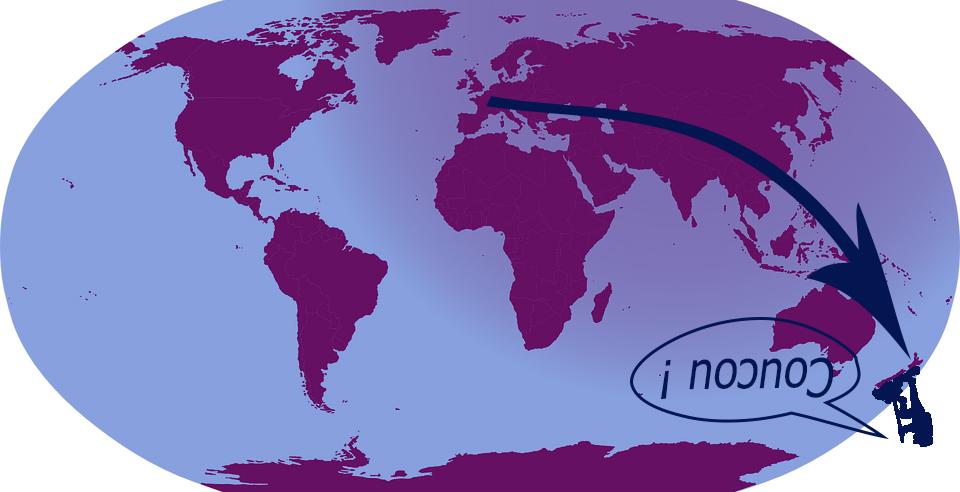 Départ pour la Nouvelle-Zélande