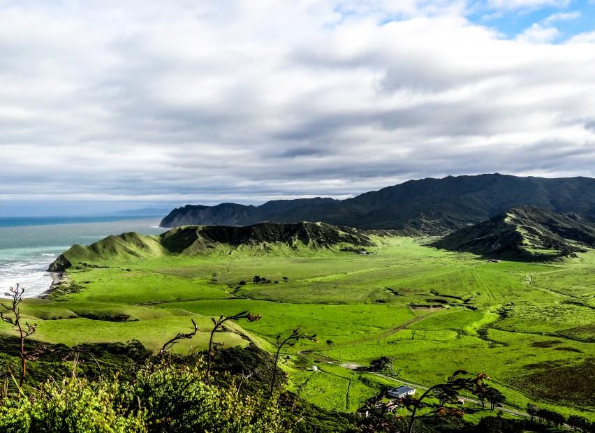 Cap Est de l'île du Nord