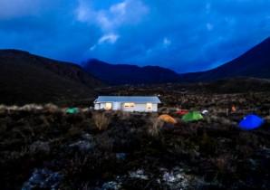 Mangatepopo Hut, Parc National du Tongariro