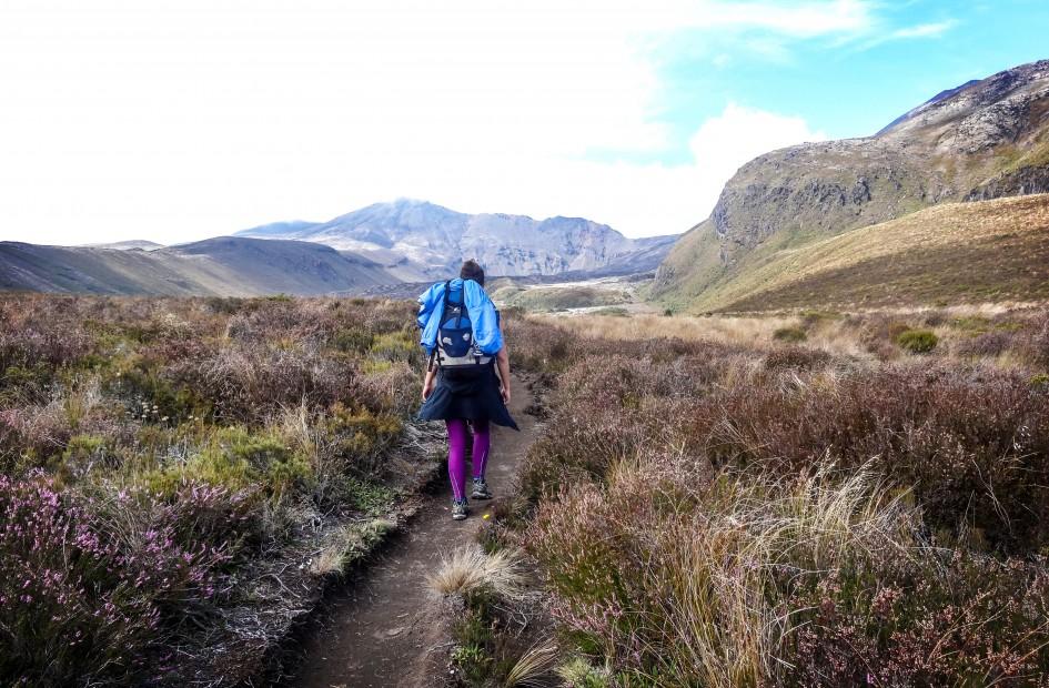 Randonnée dans le Parc National du Tongariro