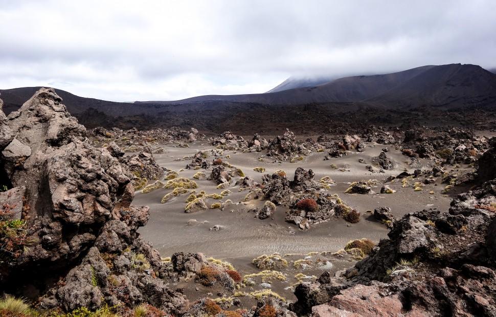 Paysage lunaire du Tongariro