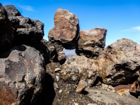 Les pierres du Parc National du Tongariro