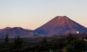 Vue sur le Mont Ngauruhoe