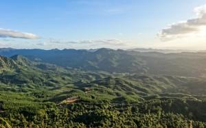 Vue sur la péninsule de Coromandel