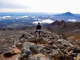 Ascension du Mont Ruapehu