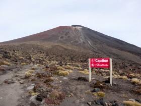 Au pied du Ngauruhoe