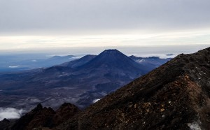 La vue depuis le Mont Ruapehu