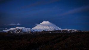 Parfait Ngauruhoe en hiver