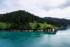 Les fjords à l'arrivée