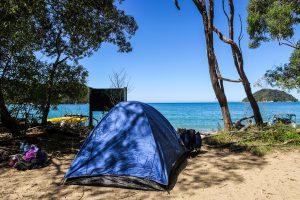 Camping à Abel Tasman