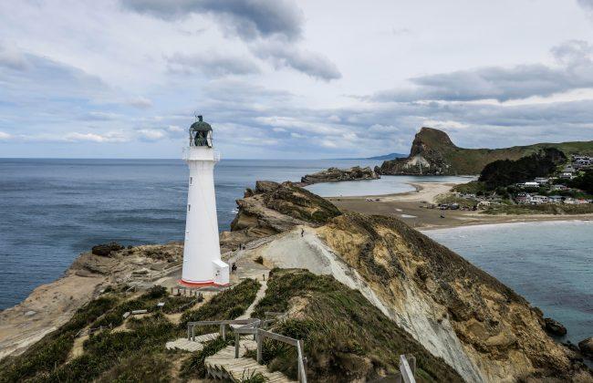 Castle Point, près de Wellington
