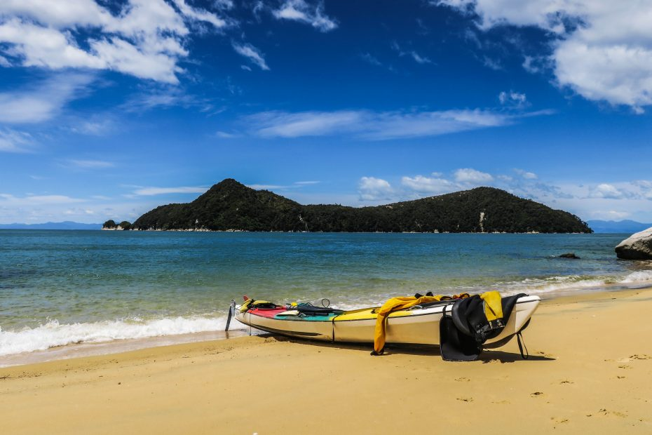 Notre kayak à Abel Tasman