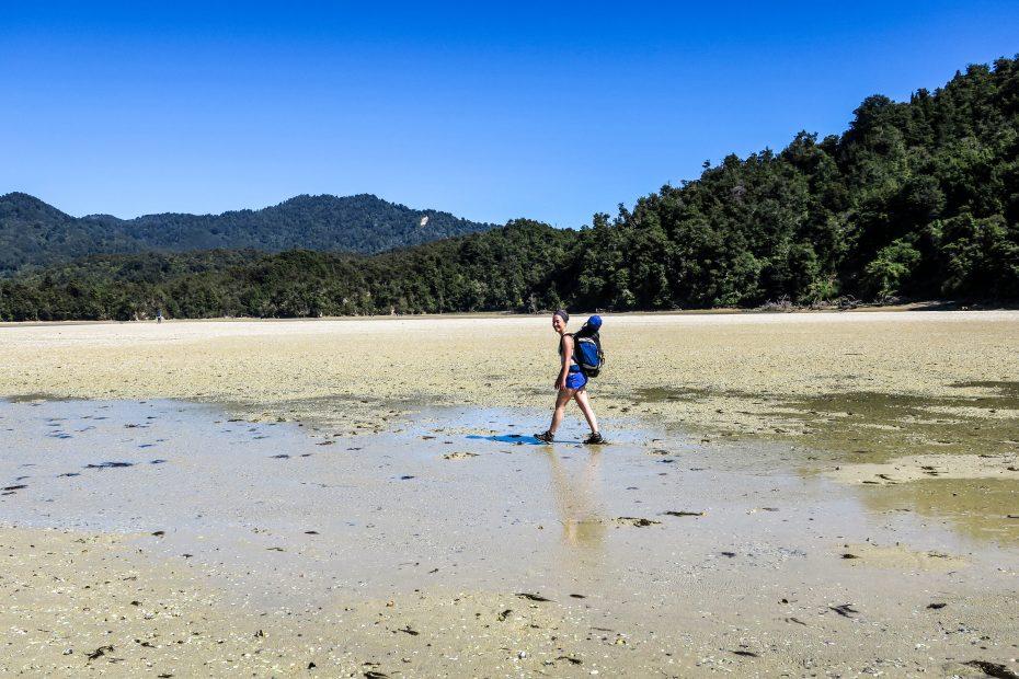 Marche à Abel Tasman