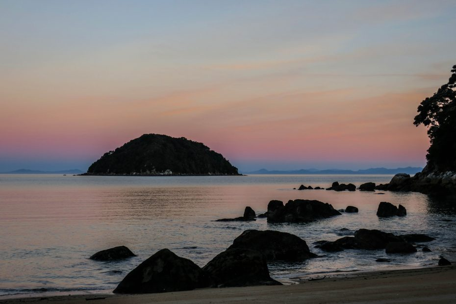 Soirée à Abel Tasman