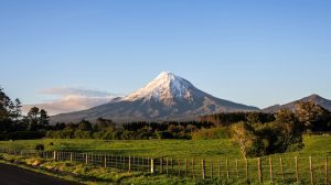 Mont Taranaki le matin