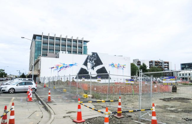 Christchurch et son art de rue