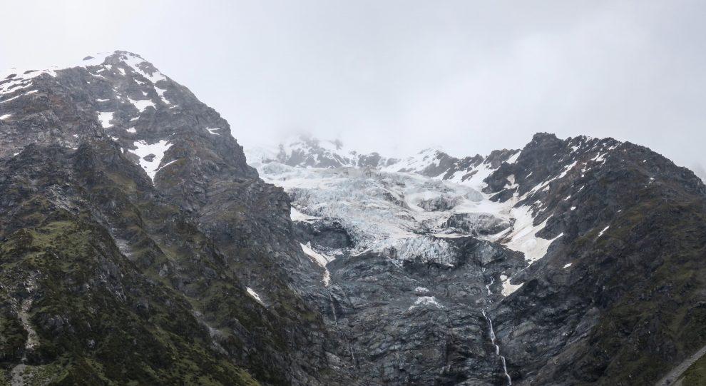 Glaciers de Mont Cook