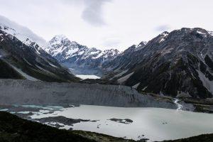 Mont Cook de haut
