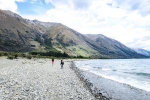 Randonnée sur la Lac Ohau