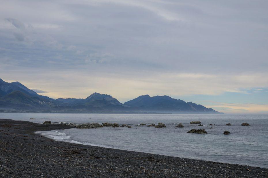 Ciel voile sur Kaikoura