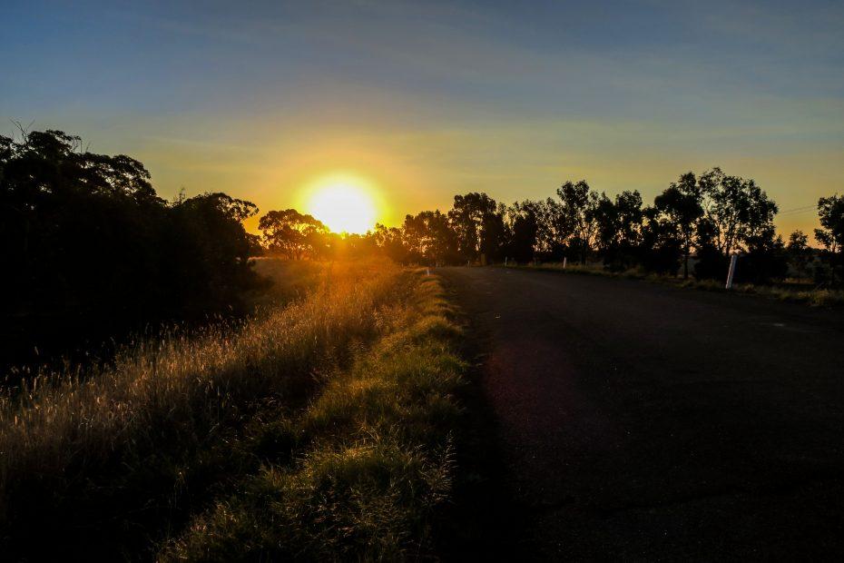 Crepuscule australien