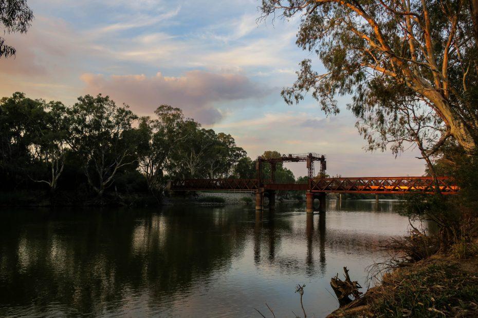 Le pont historique de Tocumwal