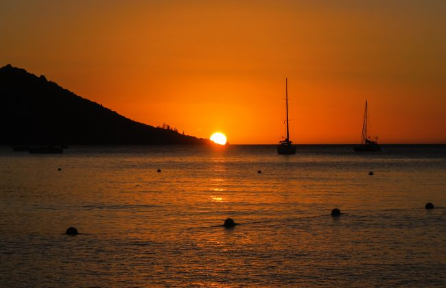 Magnetic Island au coucher du soleil