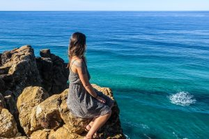 Fraser Island et l'horizon