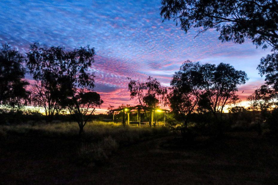 Camping à Uluru
