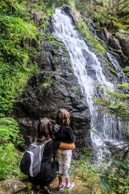 Anaïs dans les Vosges