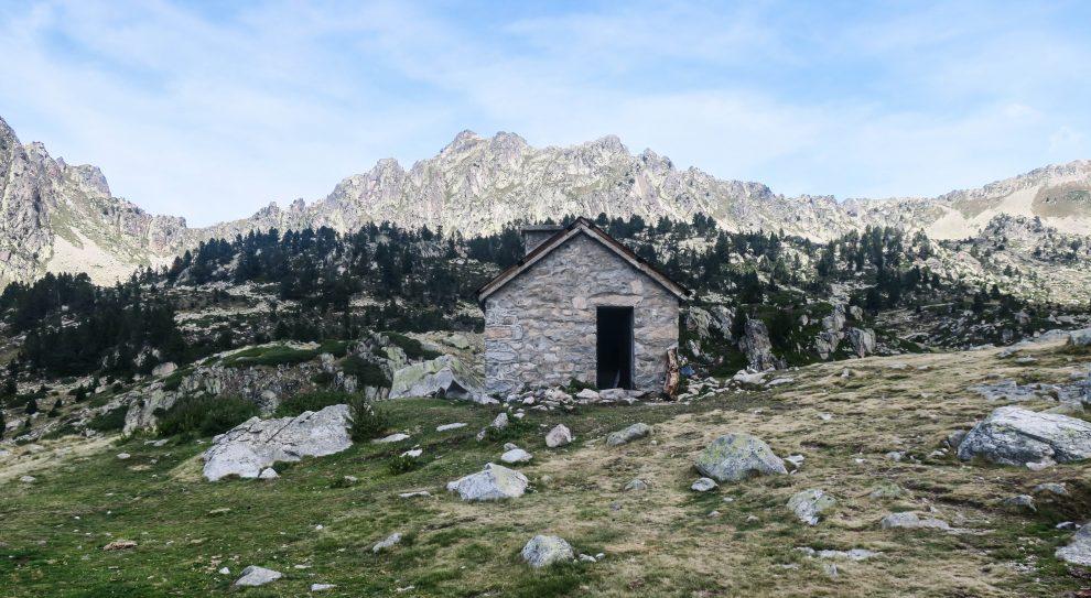 refuge dans les Pyrénées