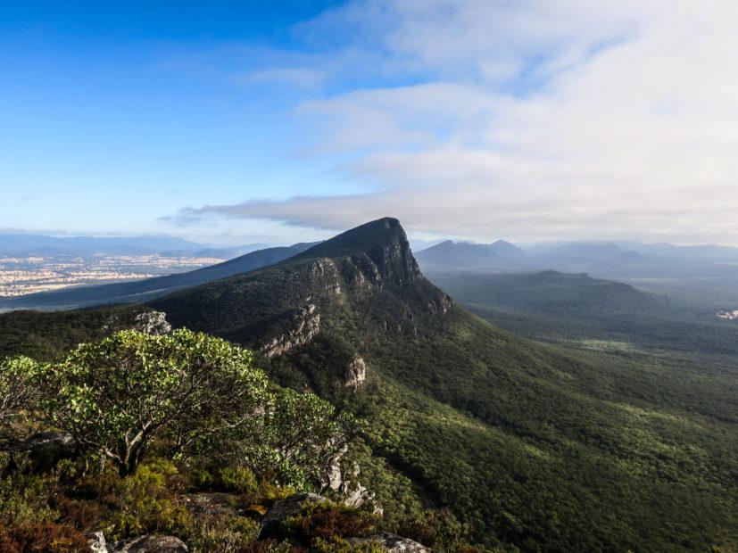 Vue du Mont Abrupt, Grampians