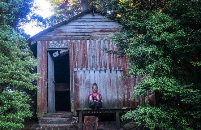 Hut sur l'Overland Track