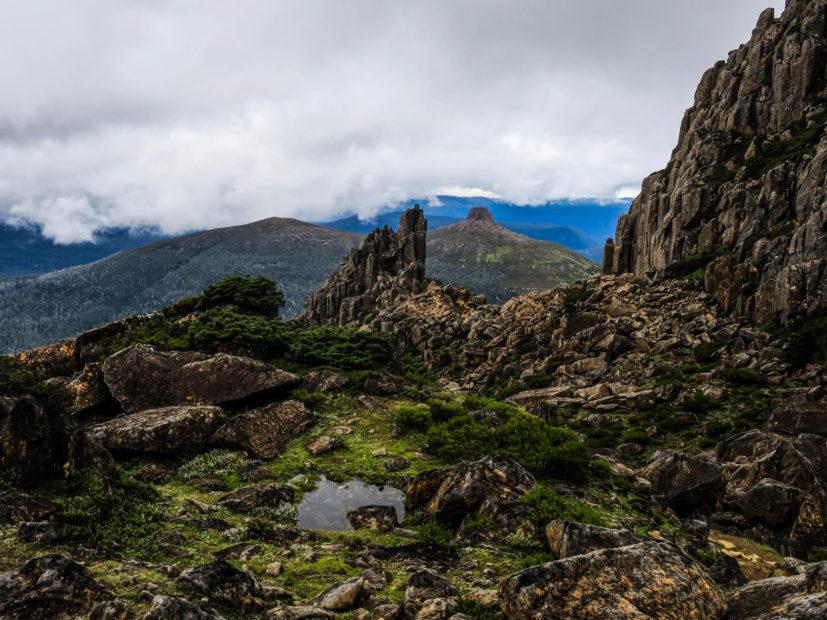 Vues du Mont Ossa